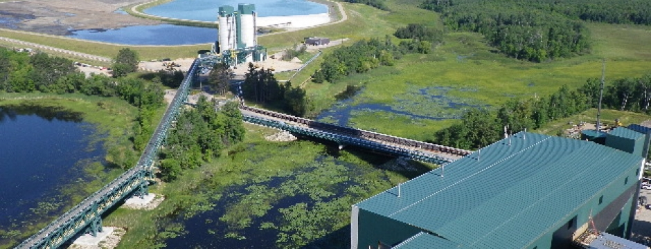 Updated Aerial View of the Ash Silos & NID
