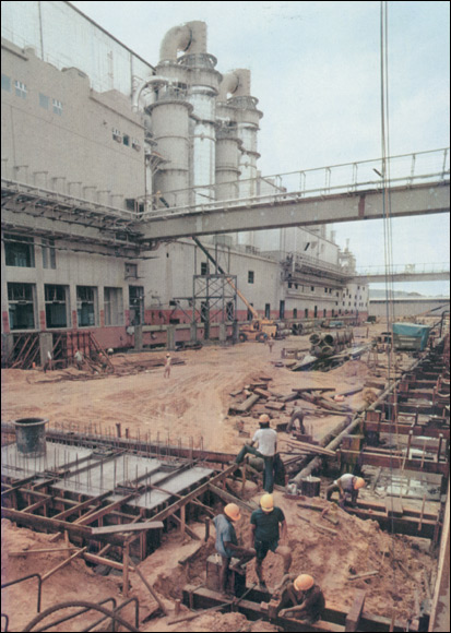 Linking the Power Plant & Pulp Plant