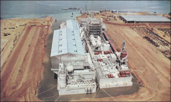 Pulp & Power Platforms, holding lagoon